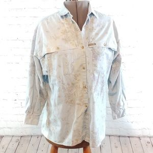 VINTAGE OUTBACK RED BUTTON DOWN